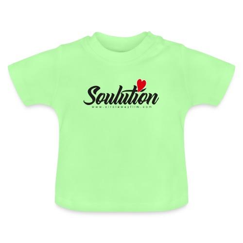 Soulution Logo - schwarz - Baby T-Shirt