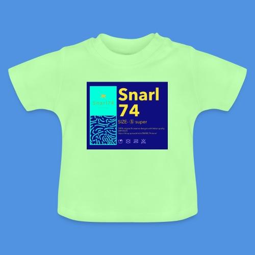 Etichetta one - Maglietta per neonato