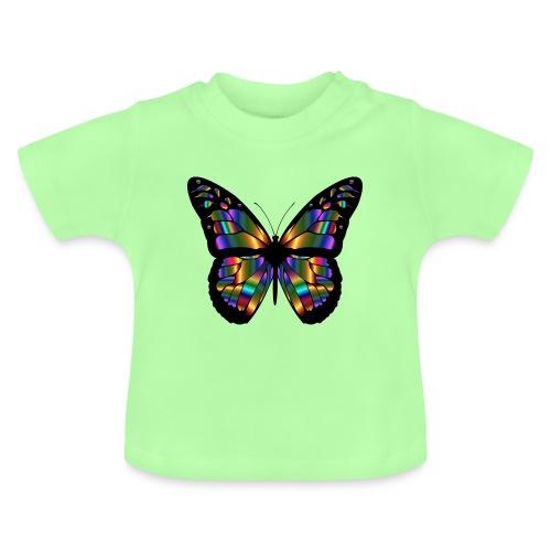 papillon design - T-shirt Bébé