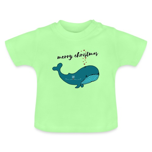 Wal merry christmas - Baby T-Shirt