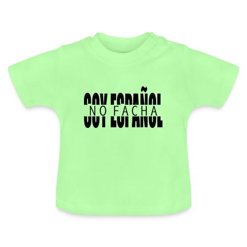 soy español no facha patriots - Camiseta bebé