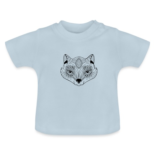mandalafox - Vauvan t-paita