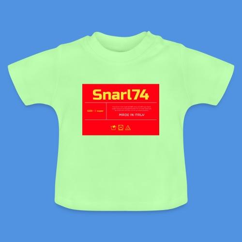 Etichetta two - Maglietta per neonato