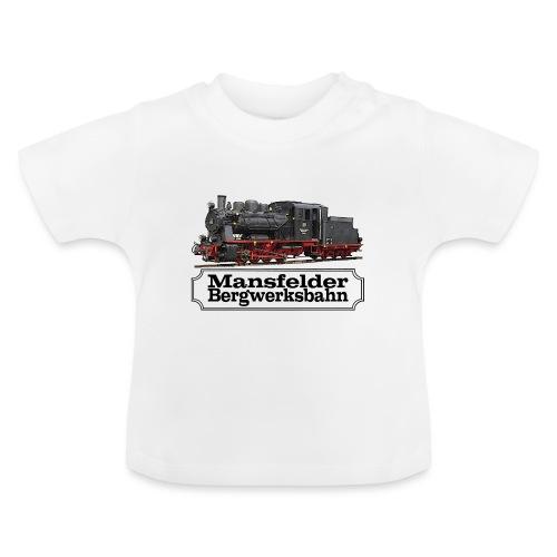 mansfelder bergwerksbahn dampflok 1 - Baby T-Shirt
