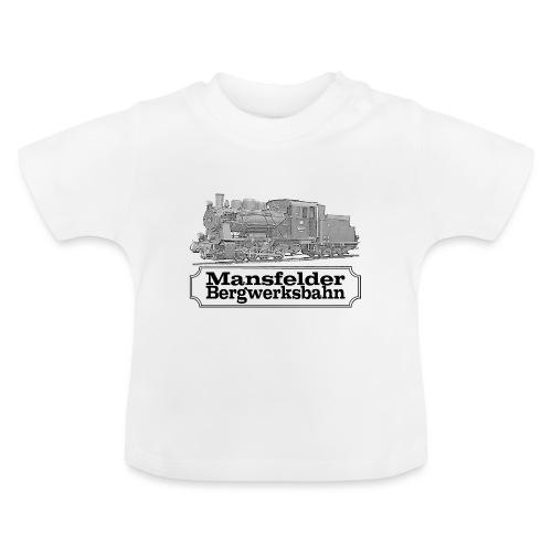 mansfelder bergwerksbahn dampflok 2 - Baby T-Shirt