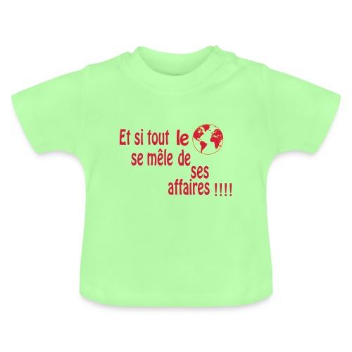 BNT création - T-shirt Bébé