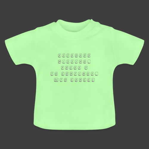 Keyboard - Baby T-Shirt