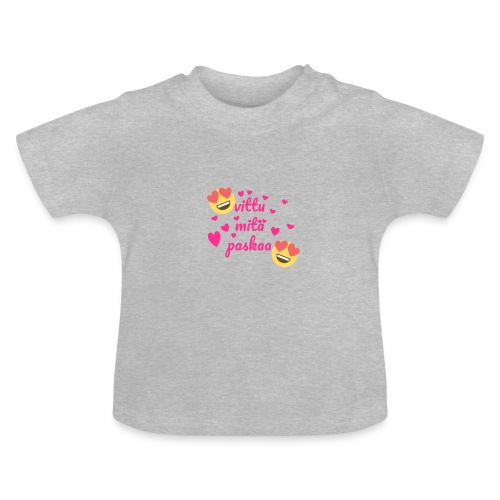 Vittu mitä paskaa - Vauvan t-paita