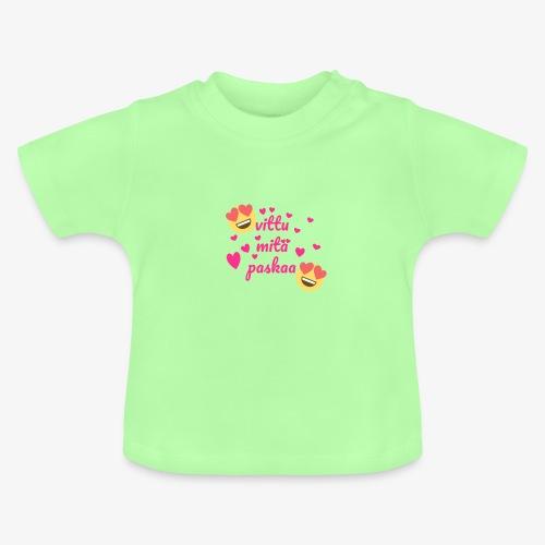 Fuck vad skit - Baby-T-shirt