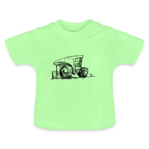Futuristic design tractor - Baby T-Shirt