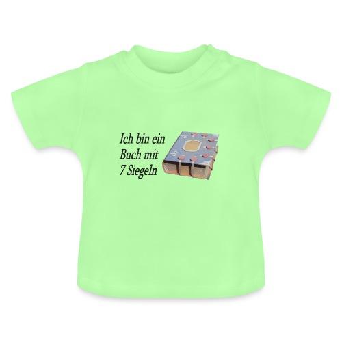 Buch mit 7 Siegeln 4 - Baby T-Shirt