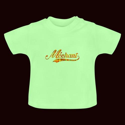 méchant madras - T-shirt Bébé