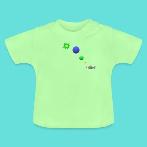 poisson bulle paf - T-shirt Bébé