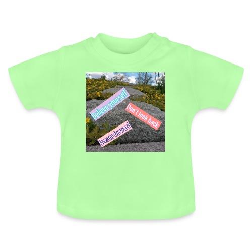 believe yourself - Baby-T-shirt