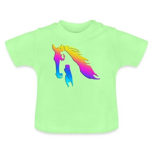 Cheval arc en ciel - T-shirt Bébé