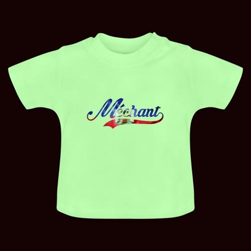 méchant drapeau haïtien - T-shirt Bébé