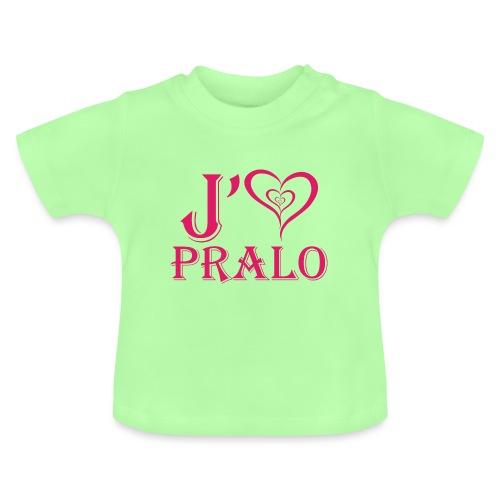 j aime pralo rouge 2 - T-shirt Bébé