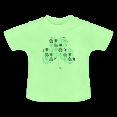 Glücksbringer Kleeblatt - Baby T-Shirt