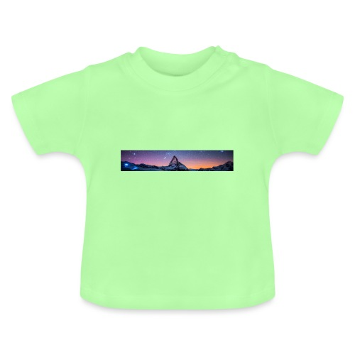 Mountain sky - Baby T-Shirt