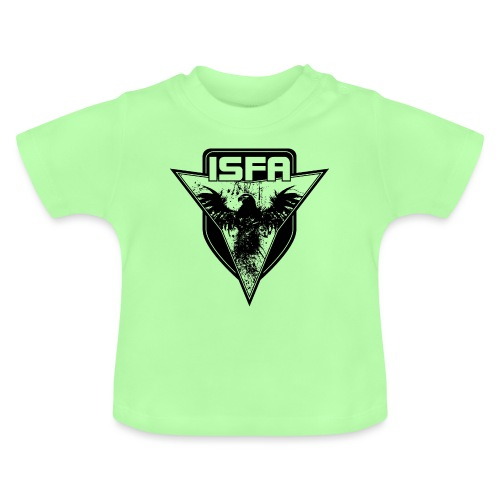 isfa logo 1c schwarz - Baby T-Shirt
