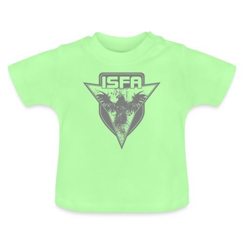 isfa logo 1c grau - Baby T-Shirt