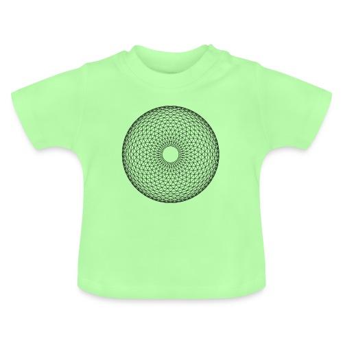 Torus Yantra - Hypnotic Eye - Baby T-shirt