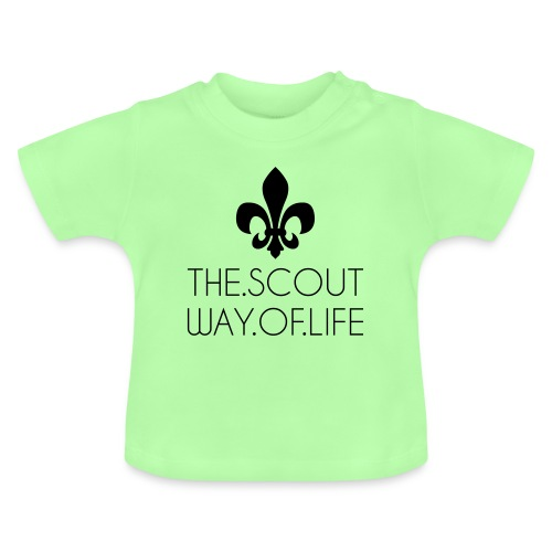 THE.SCOUT.WAY.OF.LIFE Typo Lilie - Farbe wählbar - Baby T-Shirt
