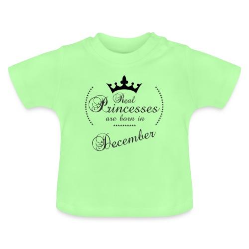 Real Princesses black December - Baby T-Shirt