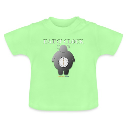 Eat o clock tshirt - T-shirt Bébé