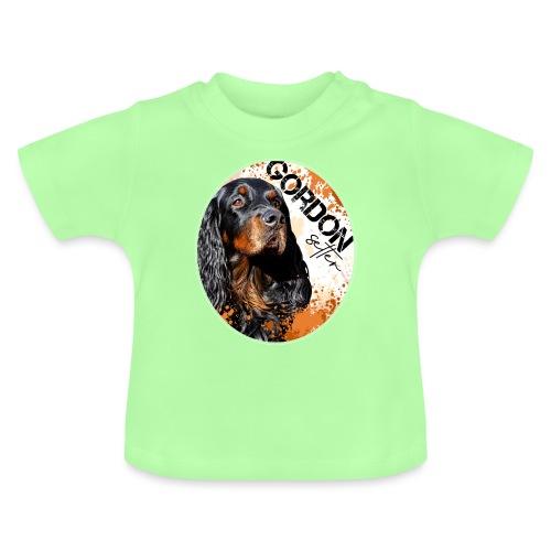 Gordon Setter Splash - Vauvan t-paita