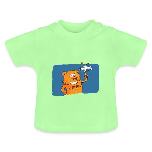 Le lion et l'oiseau - T-shirt Bébé