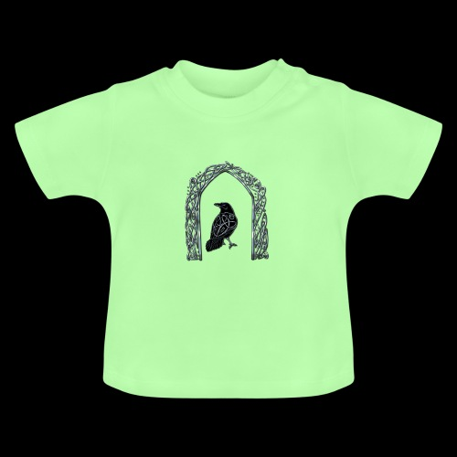 Celtic Raven - Baby T-Shirt
