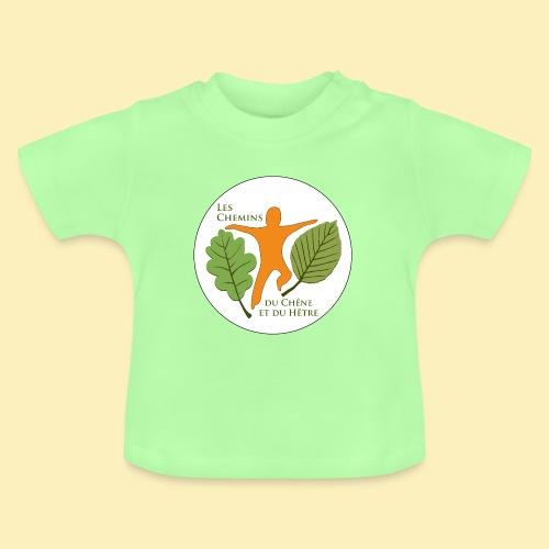 Logo des Chemins du Chêne et du Hêtre - T-shirt Bébé