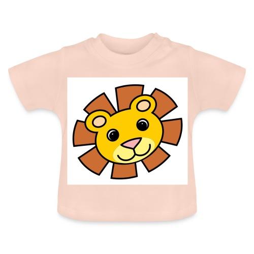 funimals_lejon_f--rg_-2- - Baby-T-shirt