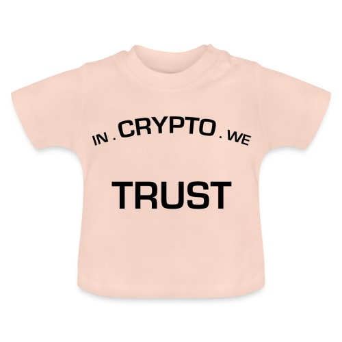 In Crypto we trust - Baby T-shirt