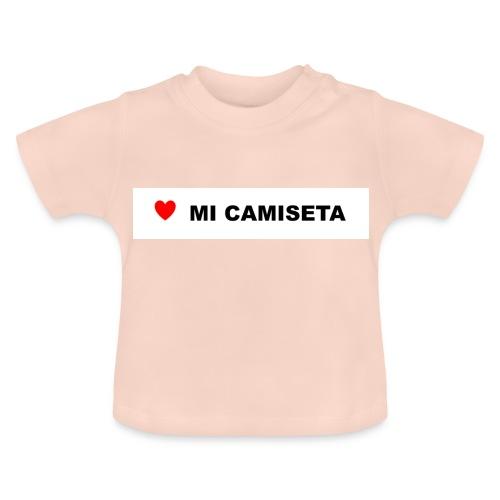 amomicamiseta - Camiseta bebé