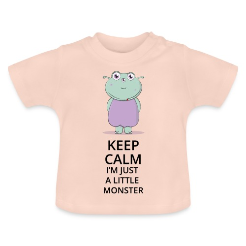 Keep Calm - Little Monster - Petit Monstre - T-shirt Bébé