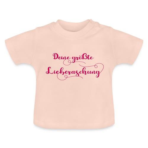 Deine größte Lieberaschung - Mädchen Baby Geschenk - Baby T-Shirt