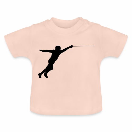 Jumping Fencer - Baby T-Shirt