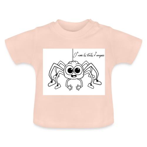 Spider Web Star - T-shirt Bébé