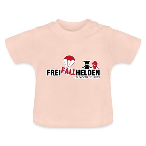 Freifallhelden - ein Glücksfall für Kinder - Baby T-Shirt