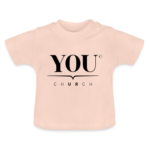 YOU Church (schwarz) - Baby T-Shirt