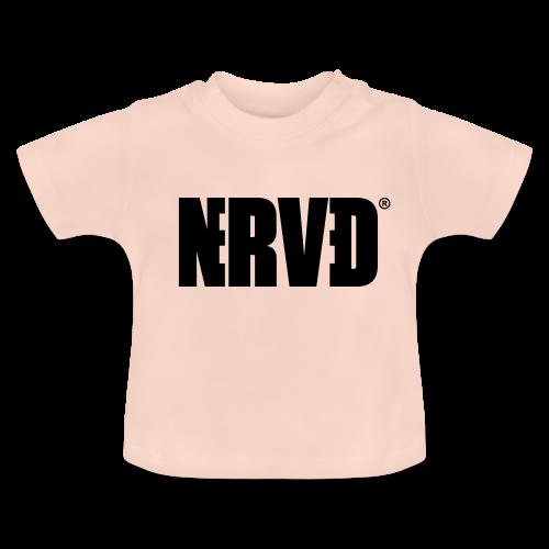Official Nerved® Logo Black - Baby T-Shirt