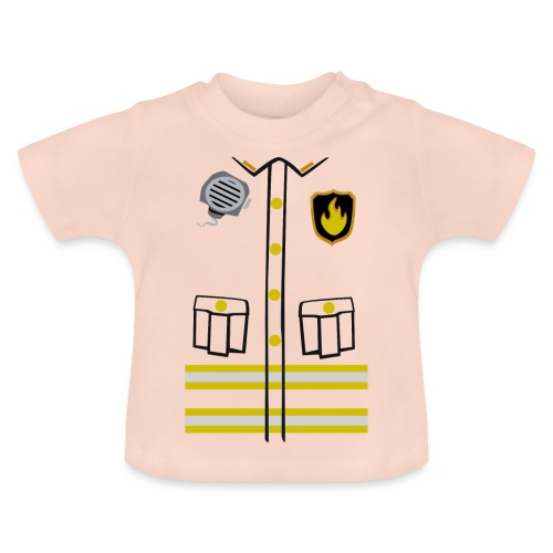Firefighter Costume - Baby T-Shirt