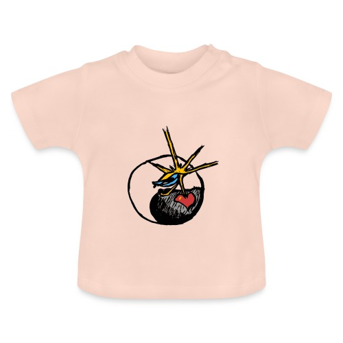 Mindfackt logo - Vauvan t-paita