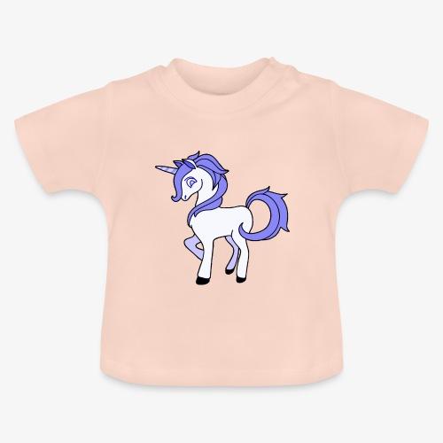 Lila Einhorn - Baby T-Shirt