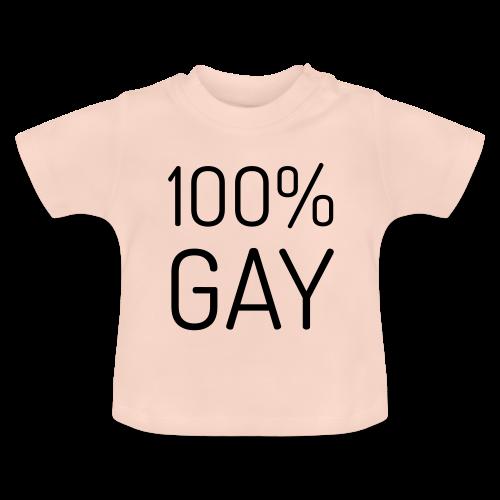 100% Gay - Baby T-shirt