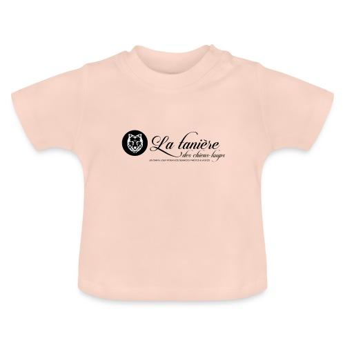 La Tanière des Chiens-Loups(logo plus grand) - T-shirt Bébé