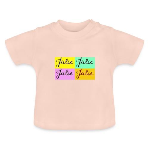 Julie Pop art - T-shirt Bébé