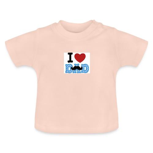 i love dad - Maglietta per neonato